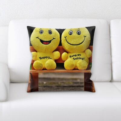 Blazek Feelings Joy Throw Pillow