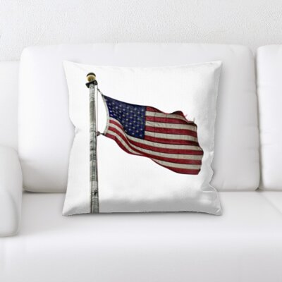 Fiorillo US Flag Throw Pillow