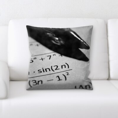 Guerra Calculus Formula Throw Pillow