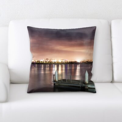 Guida City of London Throw Pillow
