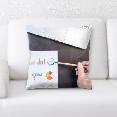 Kutz Formula Graphs Throw Pillow