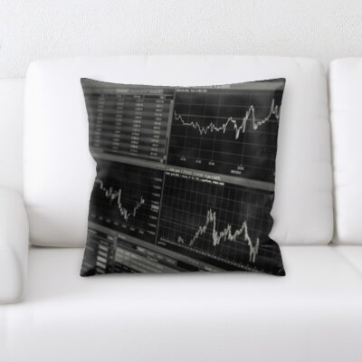 Kutz Formula Stock Market Throw Pillow