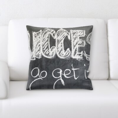 Kutz Formula Success Go Get It Throw Pillow