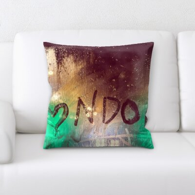 Gumm I Love London Throw Pillow