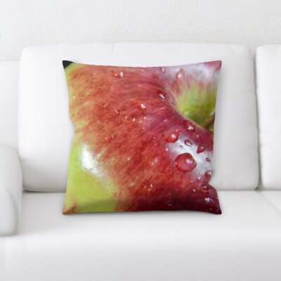 Berryhill Fruits Apple Close Up Throw Pillow