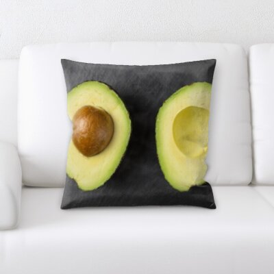 Berwyn Fruits Avacado Throw Pillow