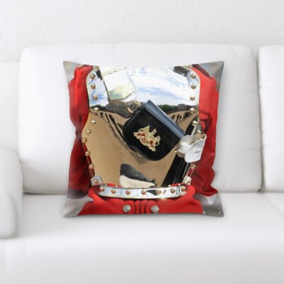 Gunderson London Soldier Throw Pillow