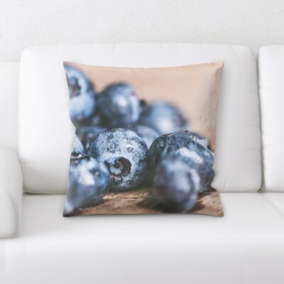 Bessette Fruits Berries Throw Pillow
