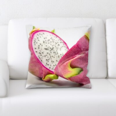 Betio Dragon Fruit Throw Pillow