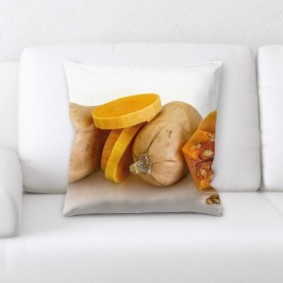 Betterton Fruits Throw Pillow