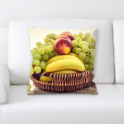 Betts Fruits Throw Pillow