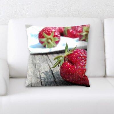 Beveridge Fruits Throw Pillow