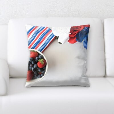 Bevilacqua Fruits Throw Pillow