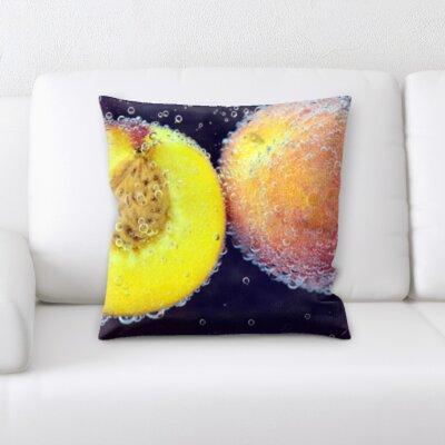 Bevill Fruits Throw Pillow