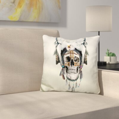 Wild Spirit III Throw Pillow