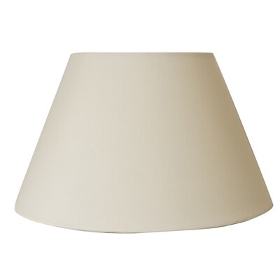 Downbridge Uno-Fitter 12 Silk Empire Lamp Shade Color: Eggshell Silk