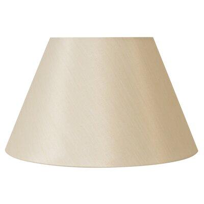 Downbridge Uno-Fitter 12 Silk Empire Lamp Shade Color: Cream Silk