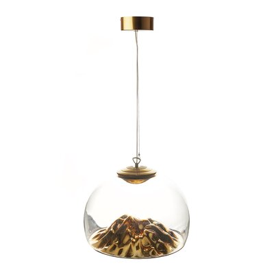 Heckman 1-Light Inverted Pendant