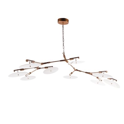 Creger 9-Light Sputnik Chandelier