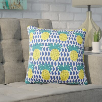 Pinesdale Pineapple Reversible Throw Pillow