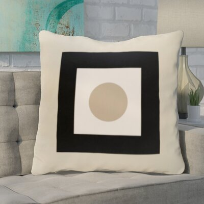 Carnell Throw Pillow Size: 16 H x 16 W, Color: Oatmeal / Flax