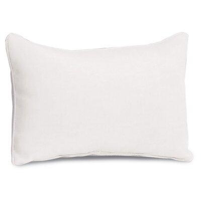 Beninga Lumbar Pillow Color : Eggshell White Polyester