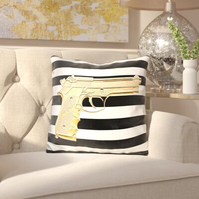 Elston Armed Throw Pillow