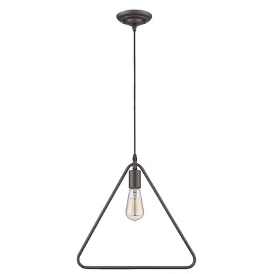Dewberry 1-Light Geometric Pendant