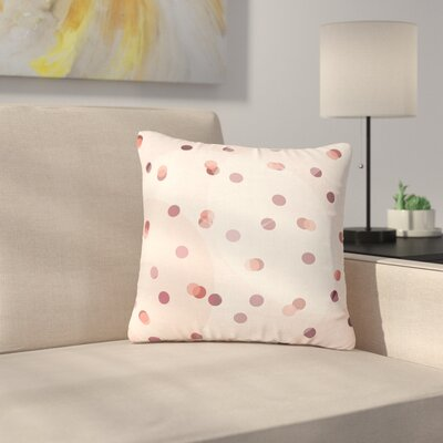 Iris Lehnhardt Dotty Outdoor Throw Pillow Size: 18 H x 18 W x 5 D