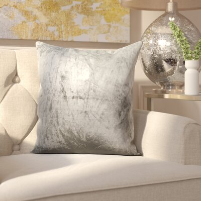 Robillard Ombre Pillow Cover Color: Gray