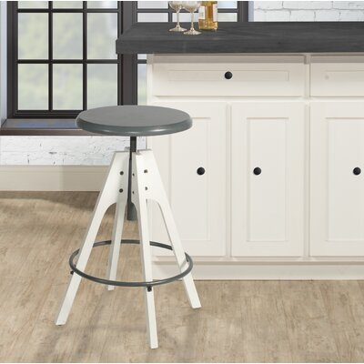 Ehlers Telford 30 Swivel Bar Stool Color: Gray