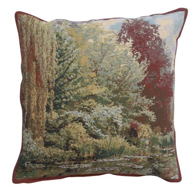 Himes Trees Cotton Pillow Cover