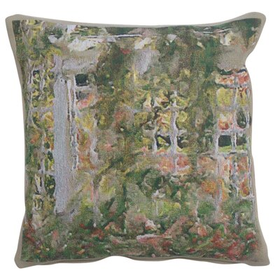 Larocco Flowers Cotton Pillow Cover