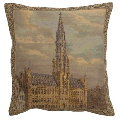Rincon Townhall Brussels Cotton Pillow Cover