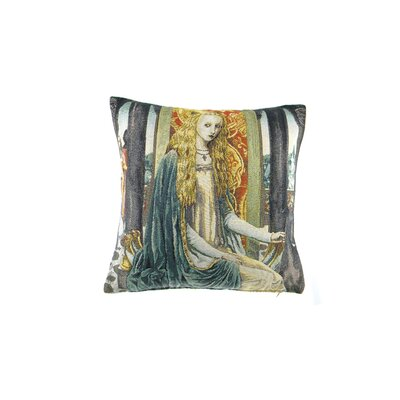 Rimmer Lady 1 Cotton Pillow Cover