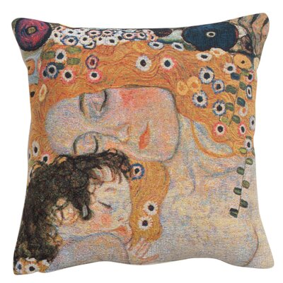Rine Mother and Child 1 Cotton Pillow Cover
