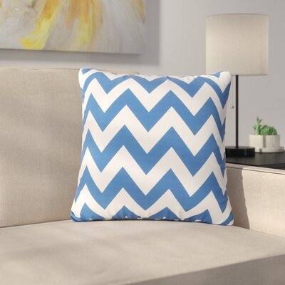 Mayhew Outdoor Pillow Color: Blue