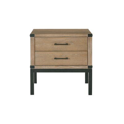 Fraser End Table with Storage