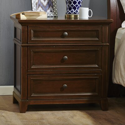 Montclair 3 Drawer Nightstand