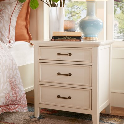 Pierson 3 Drawer Nightstand