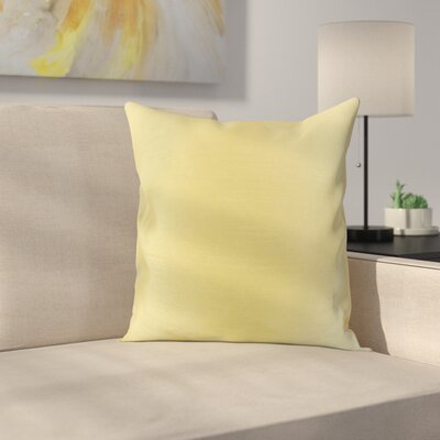Lindfield Throw Pillow Color: Gold, Size: 18 H x 18  W
