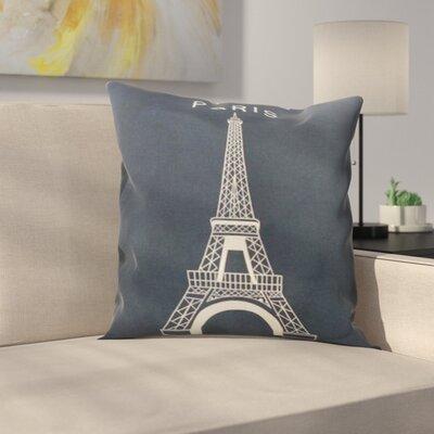 Glynn Paris Throw Pillow
