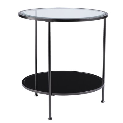 Jamiya End Table Color: Black