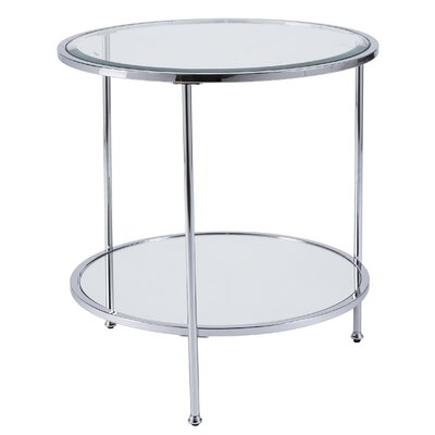 Jamiya End Table Color: Chrome
