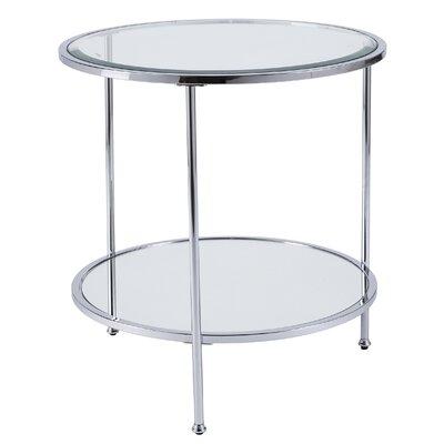 Jamiya End Table Color: Chrome