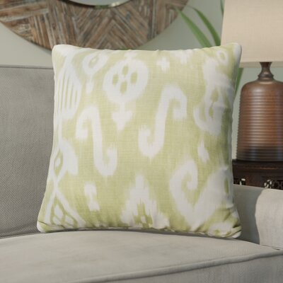 Petrina Throw Pillow Color: Green