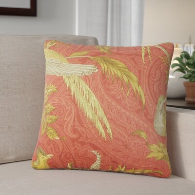 Derby Graphic Cotton Throw Pillow