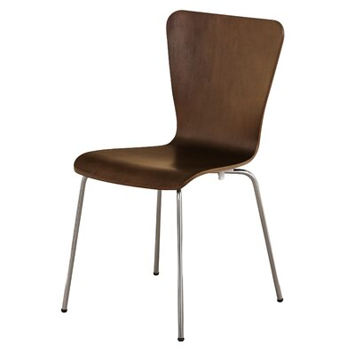 Osterman Jacey Dining Chair Color: Espresso