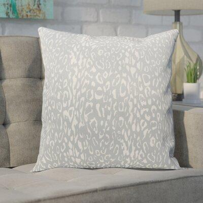 Eustachys Indoor/Outdoor Throw Pillow Color: Grey