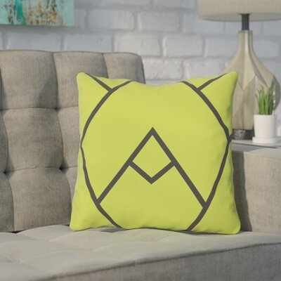 Barbagallo Polyester Throw Pillow Size: 18 H x 18 W, Color: Green